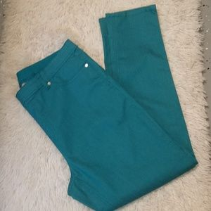 Turquoise DG2 Stretch Jeans/Jeggings sz 16-18